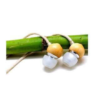 Bambusová sluchátka Earbuds Hemp