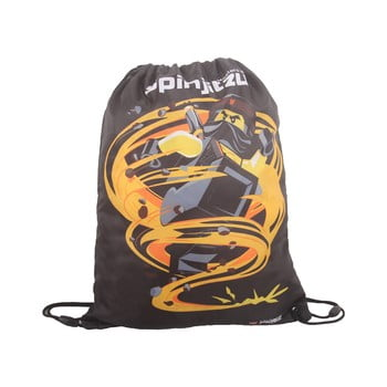 Rucsac tip sac LEGO® NINJAGO Cole, gri imagine