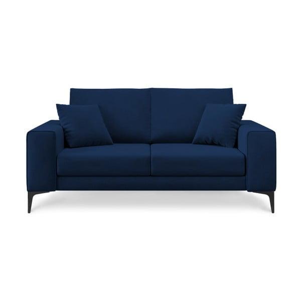 Tmavě modrá dvoumístná pohovka Cosmopolitan Design Lugano