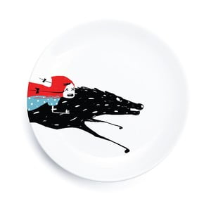 Porcelánový talíř We Love Home Little Red Adventure, 25 cm