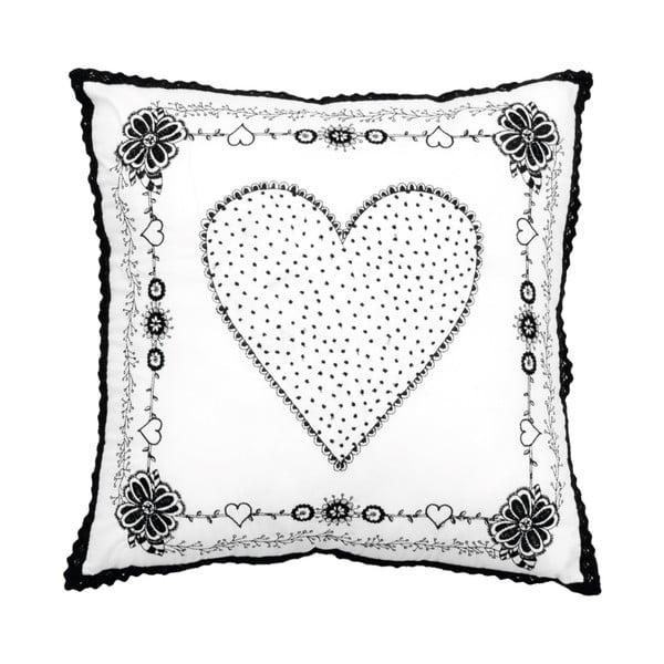 Polštář Large Heart, 45x45 cm
