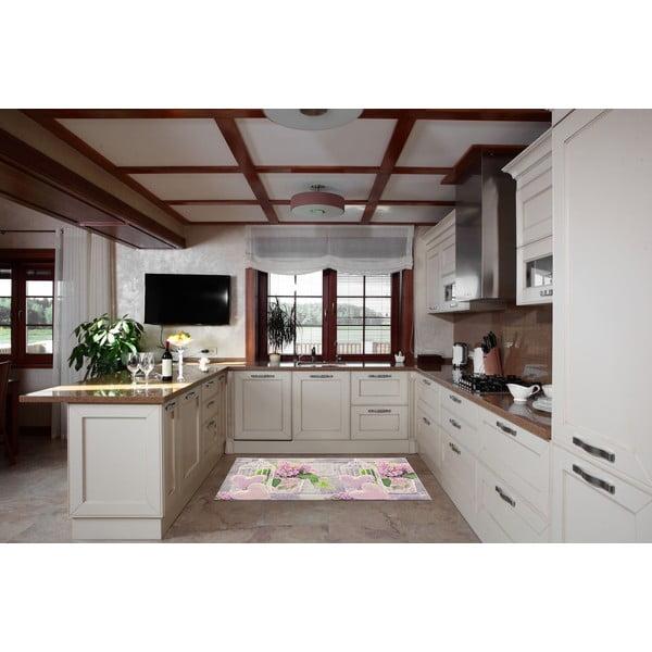 Vysoce odolný kuchyňský koberec Webtappeti Birdcage,60x140cm
