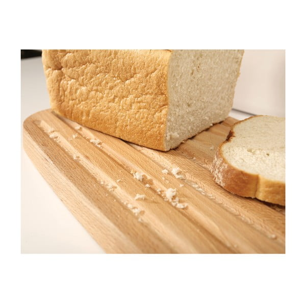 Nádoba na chléb s prkénkem Joseph Joseph Bread Bin, bílá
