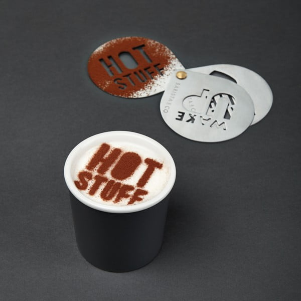 Šablony na cappuccino Barista & Co Stencils