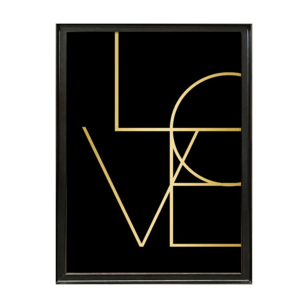 poster nr mat deluxe love 70 x 50 cm bonami. Black Bedroom Furniture Sets. Home Design Ideas
