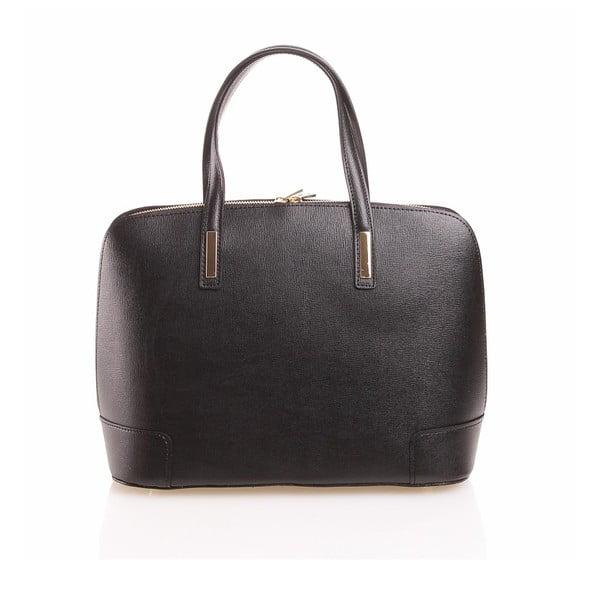 Kožená kabelka Olga, černá