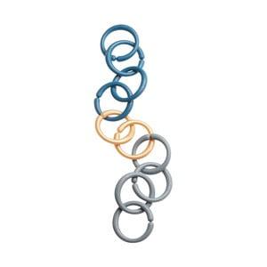 Modré hrací kroužky Done by Deer