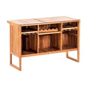 Măsuță / bar din lemn de tec pentru grădină Massive Home Real