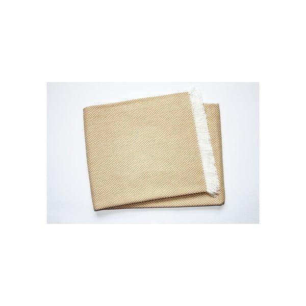 Lehká deka Skyline Beige, 140x250 cm