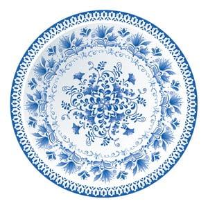 Sada 2 prostírání Nisha Blue Porcelain