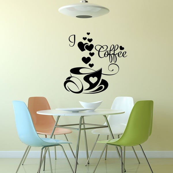 Samolepka Ambiance I Love Coffee