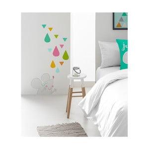 Nástěnná nalepovací dekorace Pooch Tea Up, 30x42cm