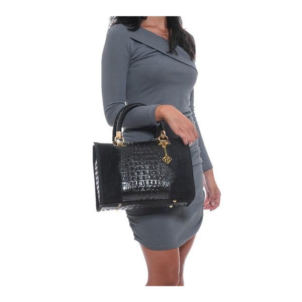 Kožená kabelka Isabella Rhea 822 Black
