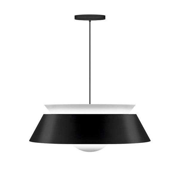 Černé stropní svítidlo VITA Copenhagen Cuna, Ø38cm