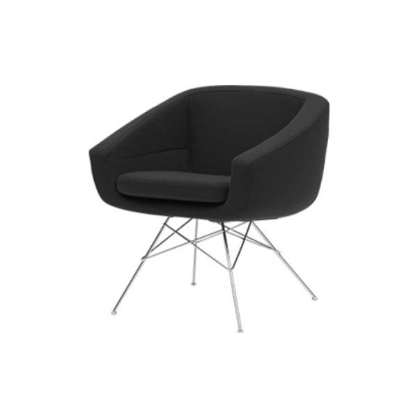 Aiko Eco Cotton Grey sötétszürke fotel - Softline