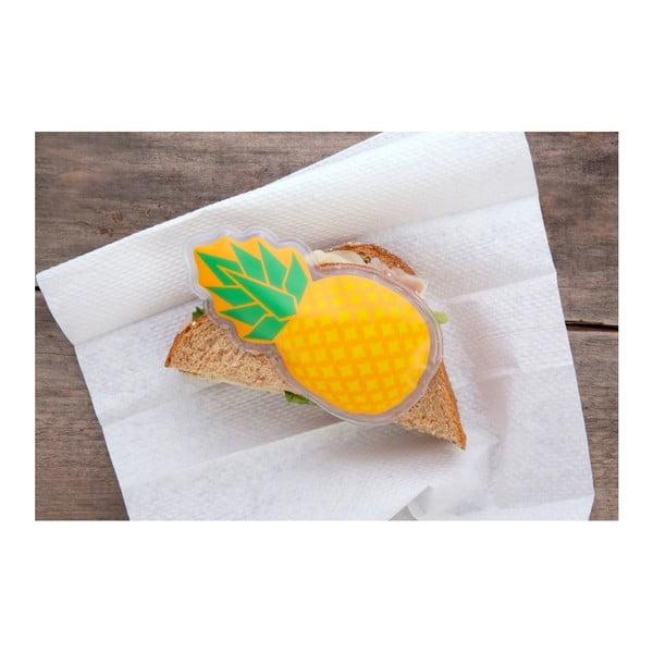 Chladící / Ohřívací polštářek ve tvaru ananasu Kikkerland Fruits