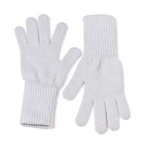 Světle šedé rukavice Lavaii Edit