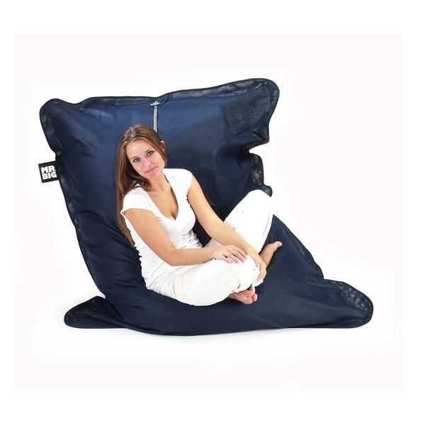 Outdoorový sedací vak BBQ, modrý