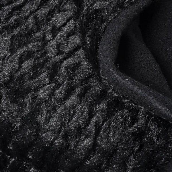 Přehoz Softie Black, 130x170 cm
