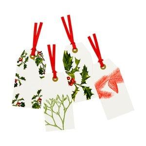 Sada osmi kusů vánočních visaček Talking Tables