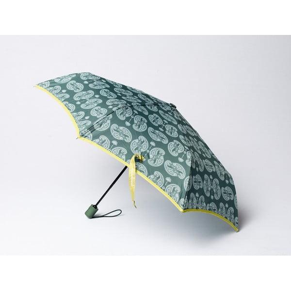 Skládací deštník Cashmere, zelený