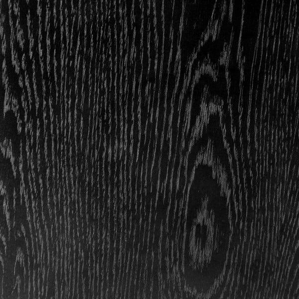 Odkládací stolek na kolečkách Max Black, 60 cm