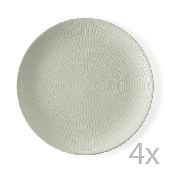 Sada 4 talířů Granaglie Creme, 27 cm