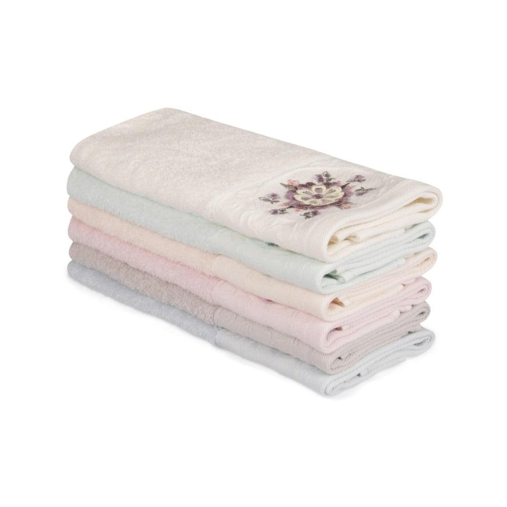 Sada 6 bavlněných ručníků Nakis Pantojo, 30 x 50 cm