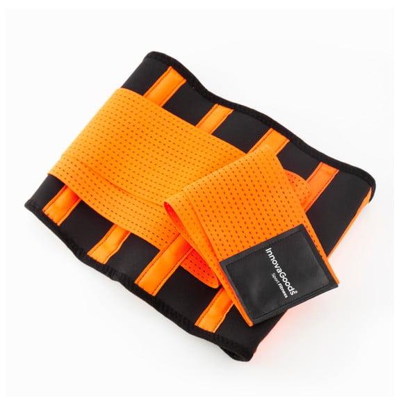 Narancssárga-fekete súlyemelő öv, méret M - InnovaGoods