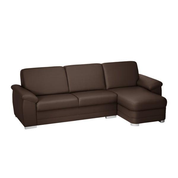 Canapea cu șezut pe partea dreapta Florenzzi Bossi, maro