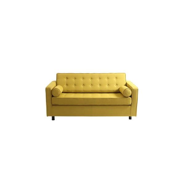 Topics sárga kétszemélyes kinyitható kanapé - Custom Form