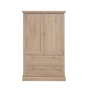 Dvoudveřová šatní skříň  v dubovém dekoru Støraa Bruce