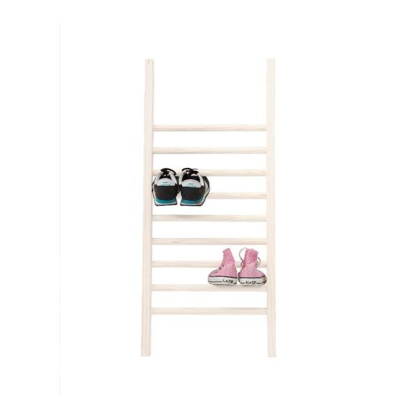 Odkládací žebřík na boty Little Nice Things S White, výška 90 cm