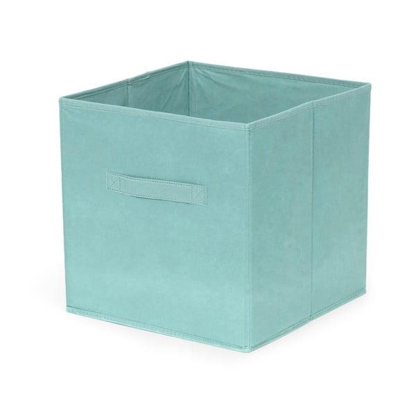 Cutie pliabilă de depozitare Compactor Cardboard Box, turcoaz