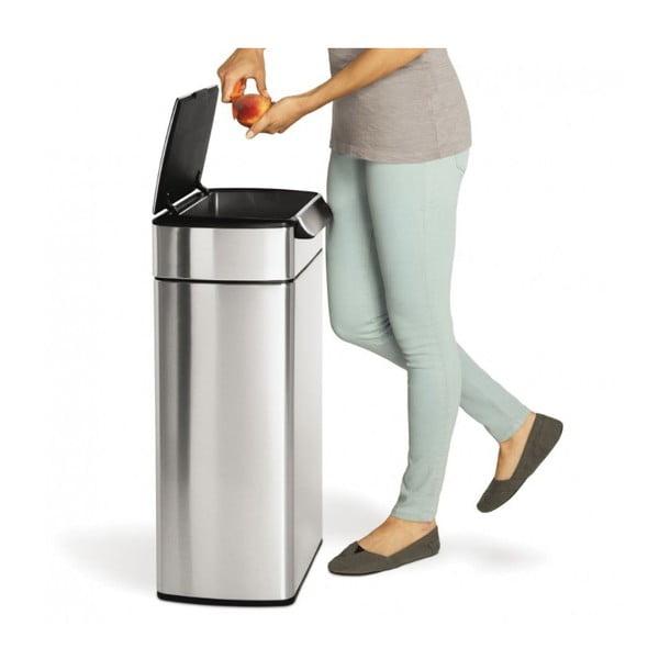 Dotykový odpadkový koš simplehuman, 40  l