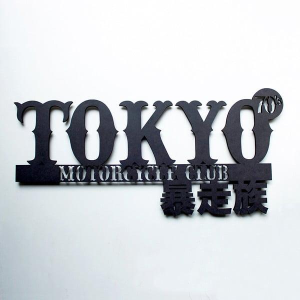 Nástěnná dřevěná dekorace Tokyo MC
