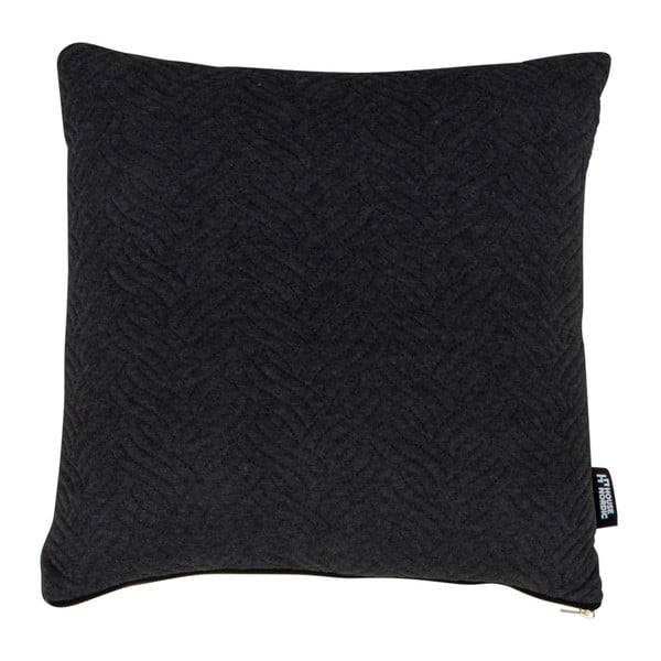 Pernă House Nordic Ferrel, 45 x 45 cm, negru
