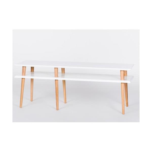 Bílý konferenční stolek Ragaba Mugo,délka139cm