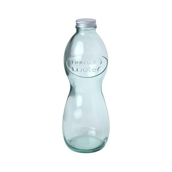 Skleněná láhev z recyklovaného skla Ego Dekor Corazon, 1 l