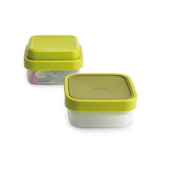 Zelená multifunkční krabička na svačinu Joseph Joseph GoEat