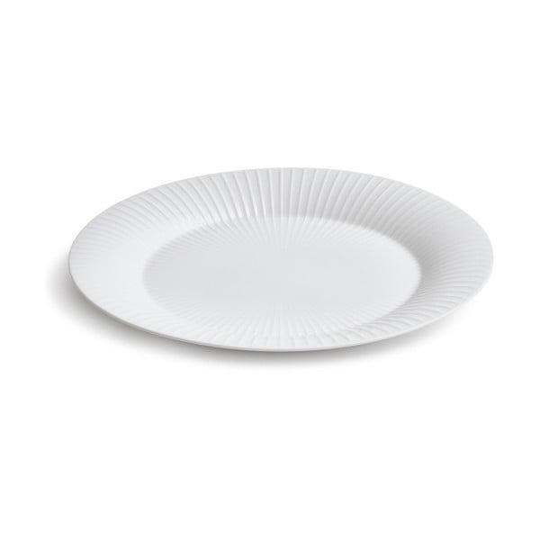 Bílý porcelánový talíř Kähler Design Hammershoi, ⌀ 34 cm