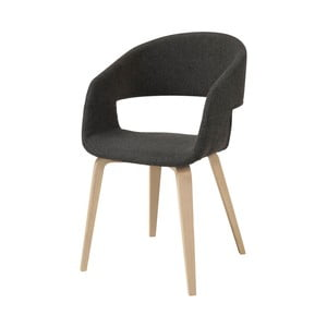 Tmavě šedá jídelní židle Interstil Nova Nature