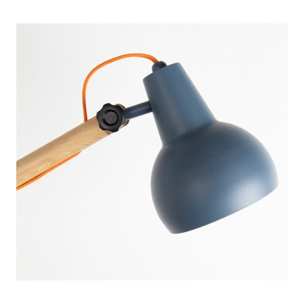 Šedá stojací lampa Zuiver Study