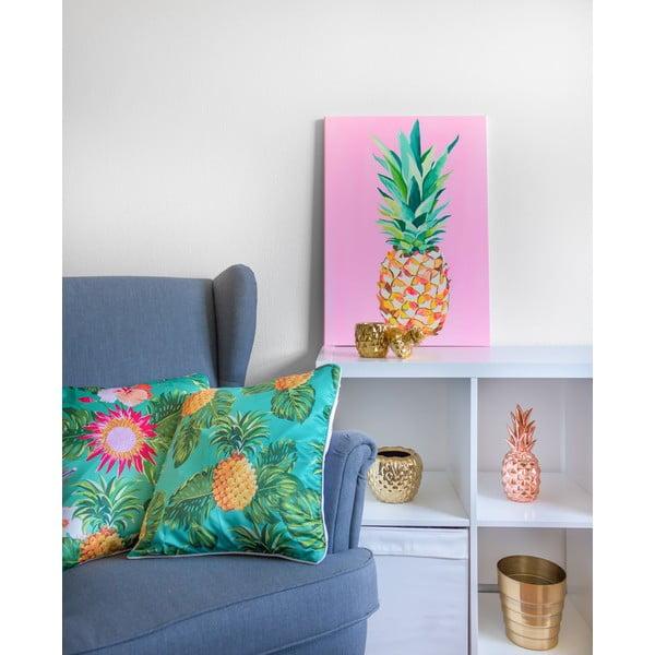 Obraz Pineapple Pink, 50x90 cm