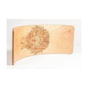 Bukové houpací prkno Utukutu Lev, délka82cm