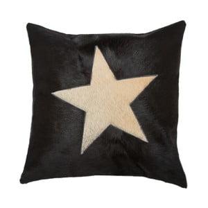 Polštář Capa Star 45x45 cm, černý