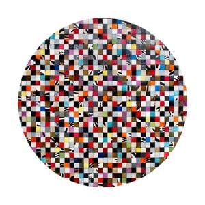 Kožený koberec Pipsa Fivesse, ⌀160cm