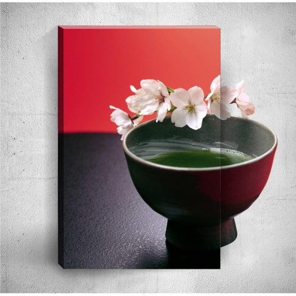 Nástěnný 3D obraz Mosticx Bowl With Flowers, 40 x 60 cm