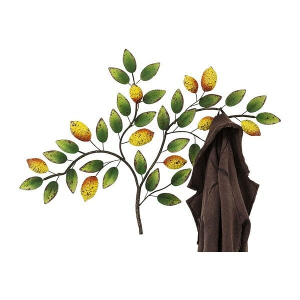 Nástěnný věšák z oceli Kare Design Lemon Tree