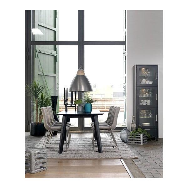 Černý jídelní stůl Canett Cokko, 200cm